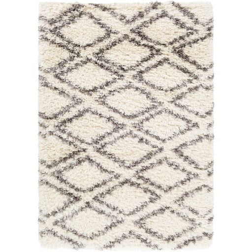 Hutchinson Neutral/Gray Area Rug Rug Size: Rectangle 9' x 12'