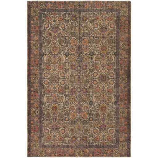 Forrestal Hand-Woven Neutral/Black Area Rug Rug Size: Rectangle 5' x 7'6