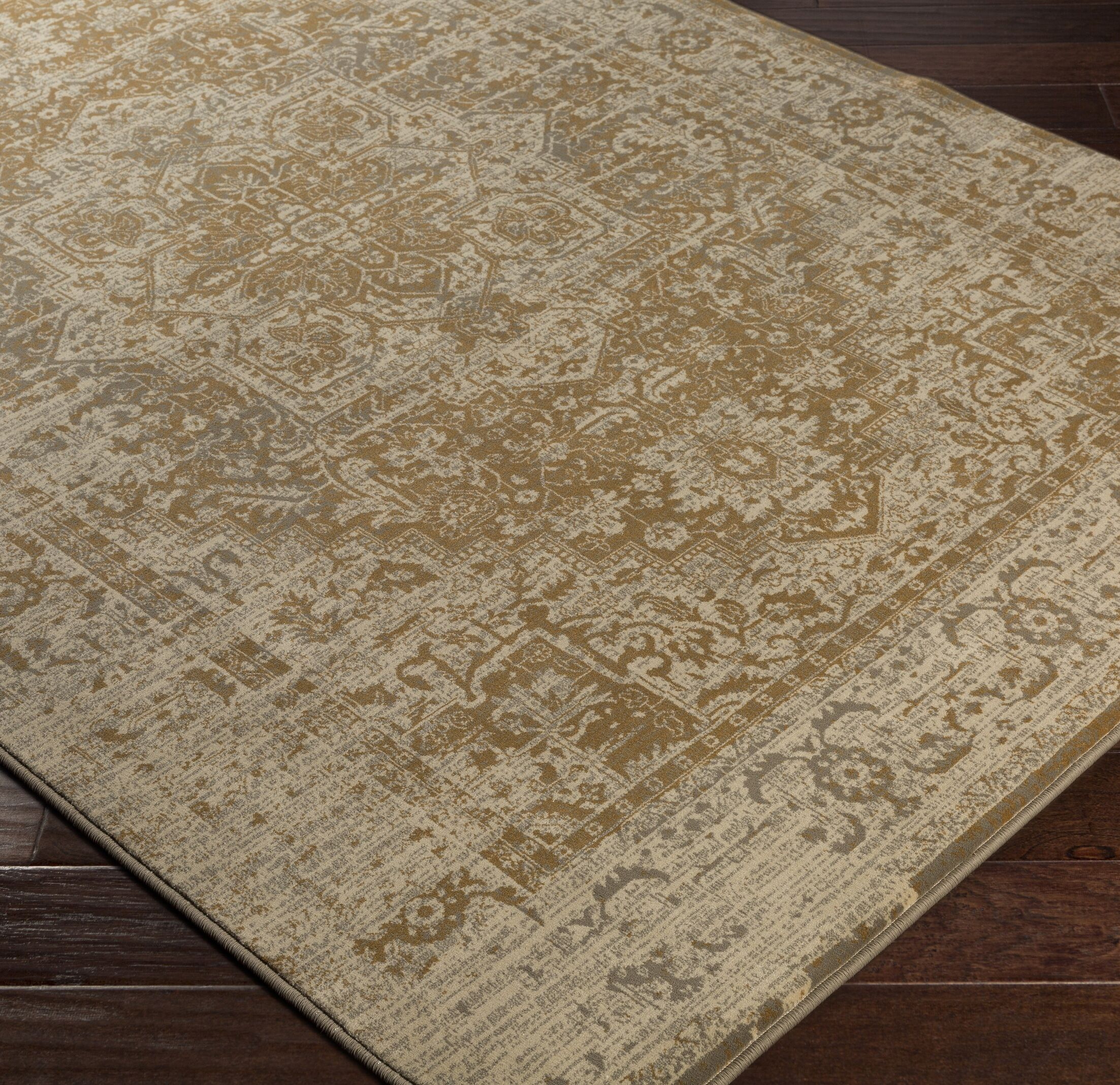 Argentine Brown Area Rug Rug Size: Rectangle 7'10