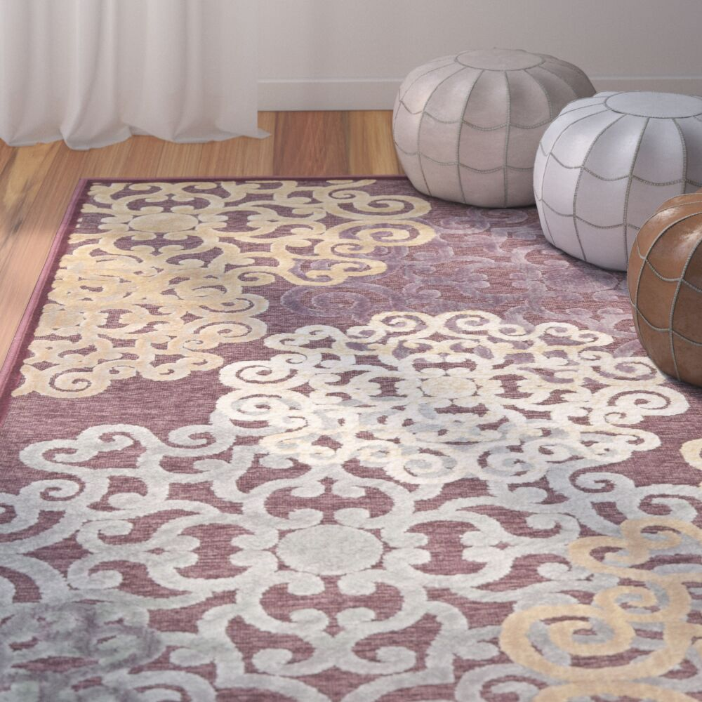 Saint-Michel Area Rug Rug Size: Rectangle 4' x 5'7