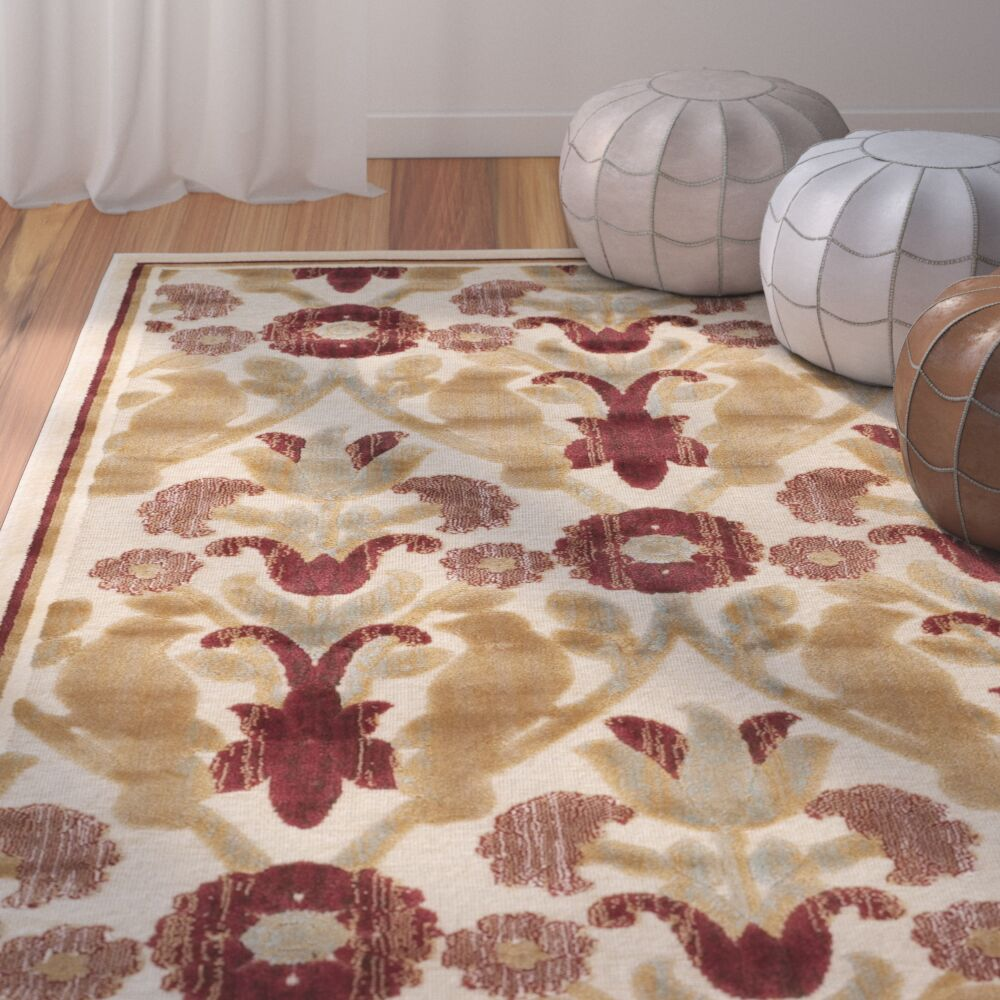 Saint-Michel Creme Rug Rug Size: Rectangle 8' x 11'2
