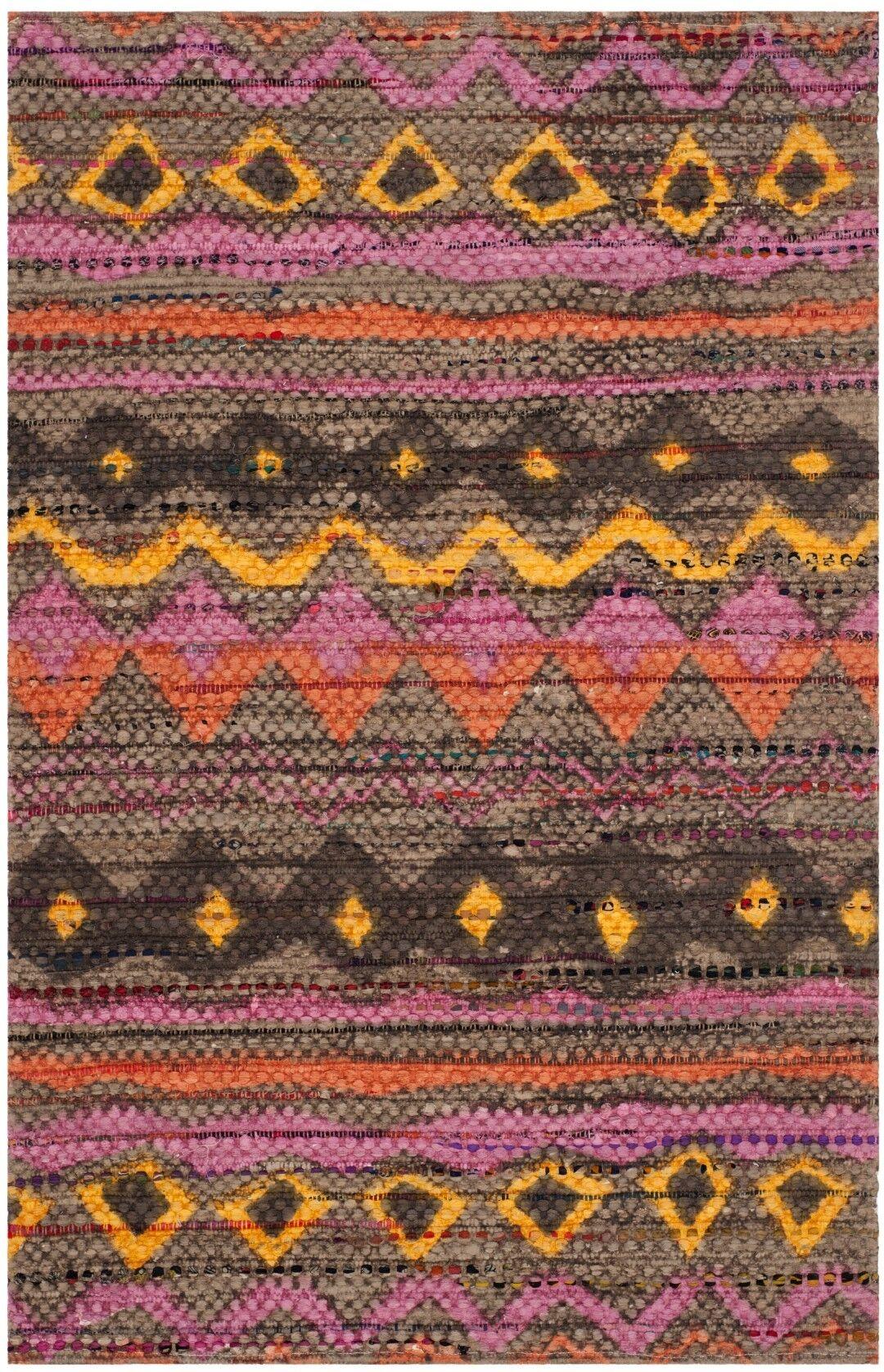 Veropeso Hand Woven Area Rug Rug Size: Rectangle 5' x 8'