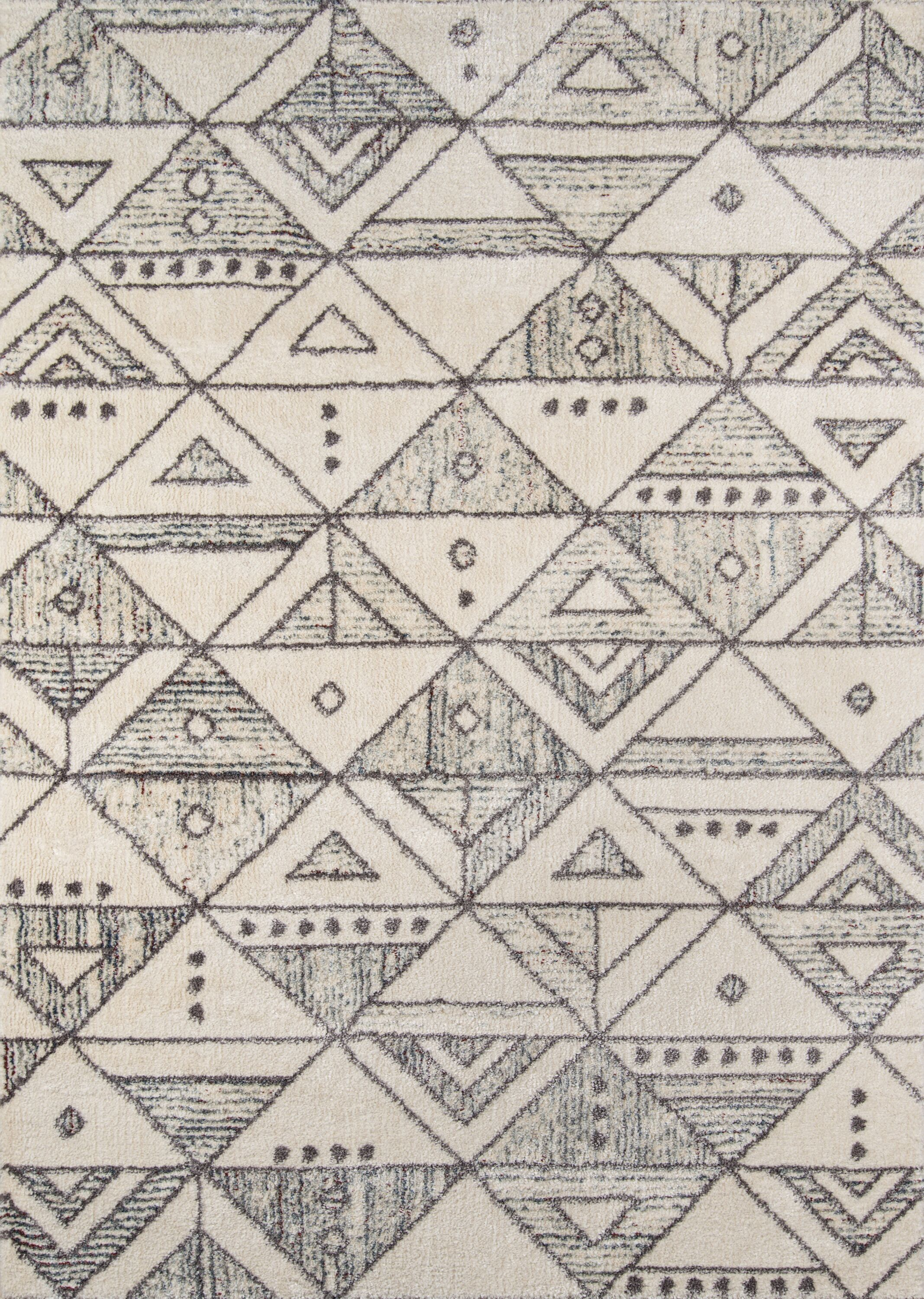 Danny Ivory Area Rug Rug Size: Rectangle 3'11