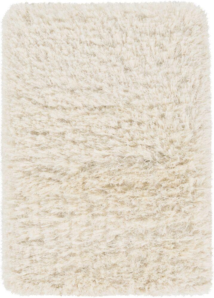 Sina Hand-Woven Peach Cream Area Rug Rug Size: Rectangle 9' x 12'
