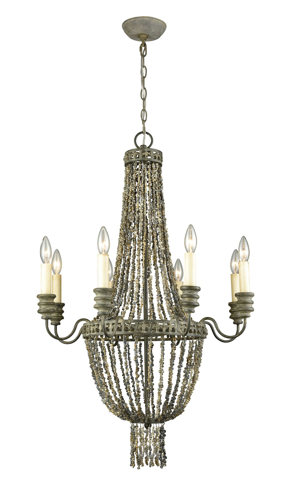 Iverson 8-Light Empire Chandelier