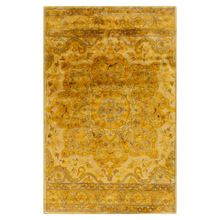 Arensburg Beige/Brown Area Rug Rug Size: Rectangle 3'3
