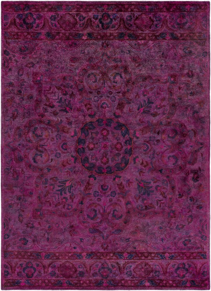 La Conception Eggplant Area Rug Rug Size: Rectangle 2' x 3'