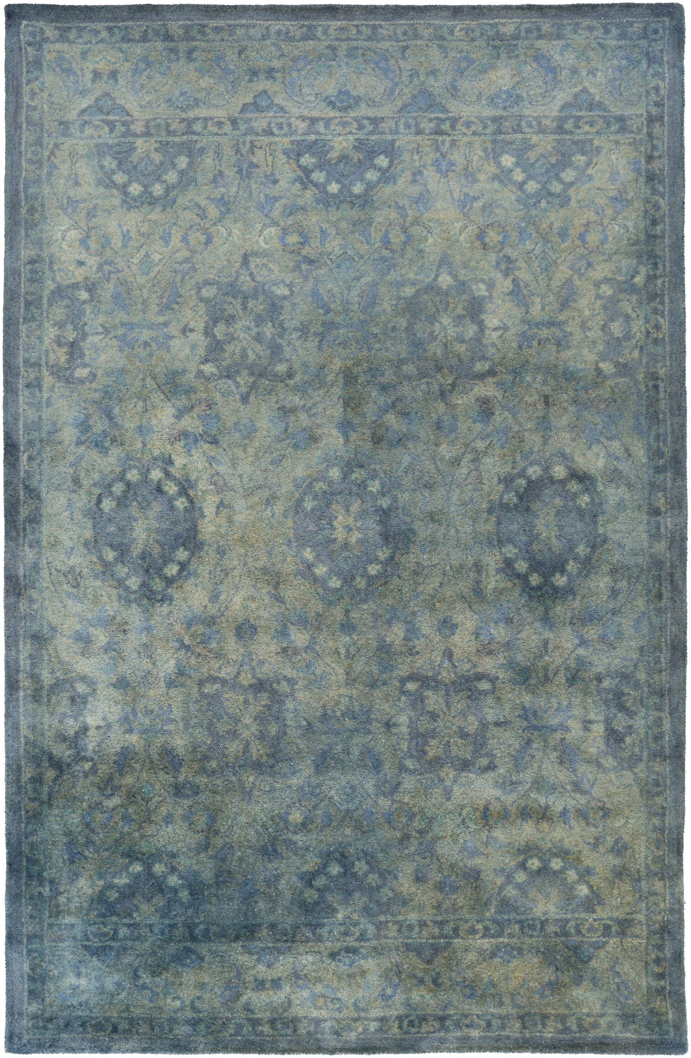 Arnemuiden Slate Area Rug Rug Size: Rectangle 2' x 3'