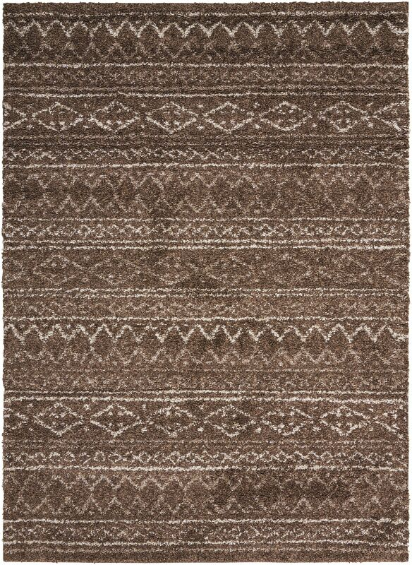 Strassen Latte Area Rug Rug Size: Rectangle 8' x 10'