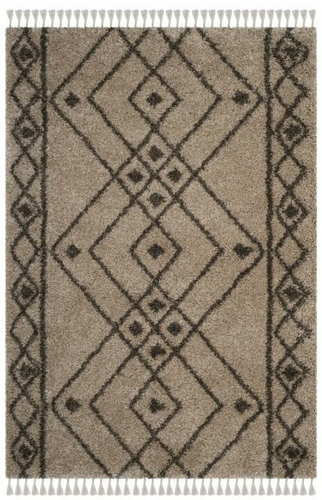 Ararat Mushroom/Gray Area Rug Rug Size: Rectangle 4' x 6'