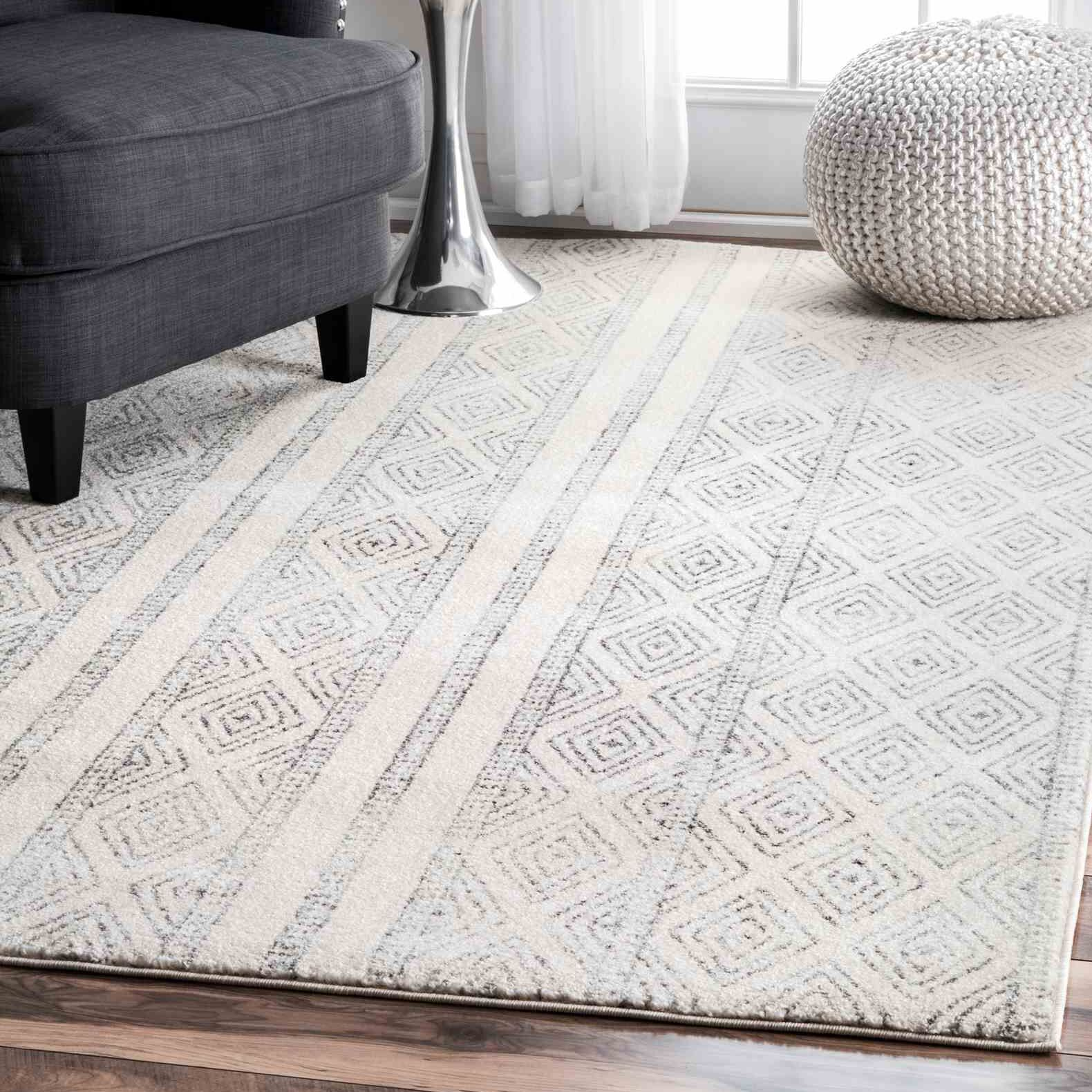 Keagan Gray Area Rug Rug Size: Rectangle 6'7