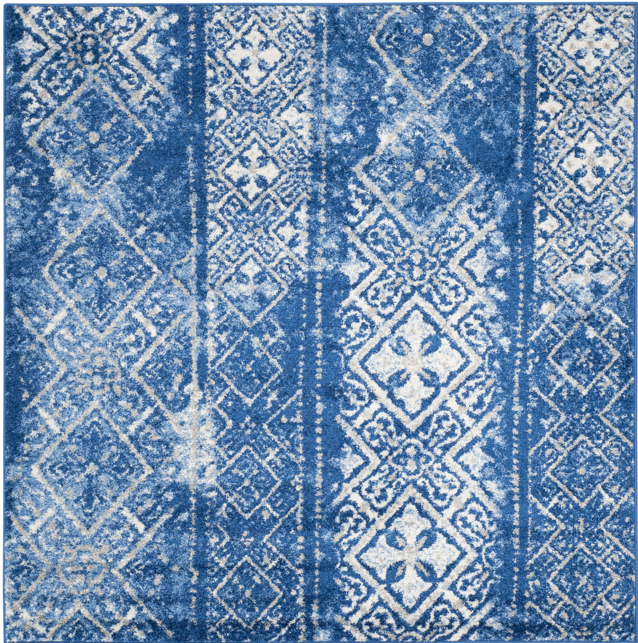 North Brookfield Beige/Blue Area Rug Rug Size: Rectangle 6' x 9'