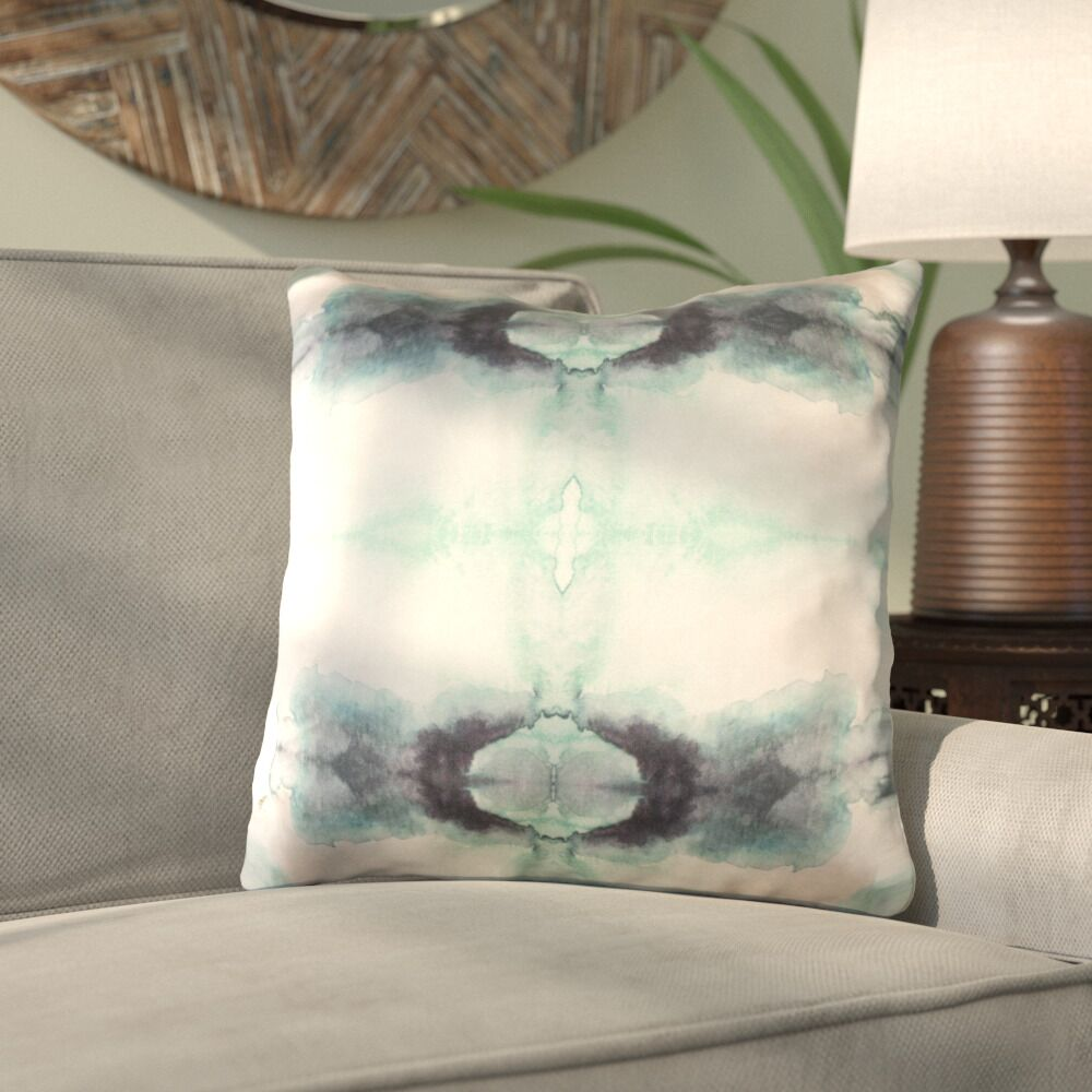 Antram Silk Throw Pillow Size: 22