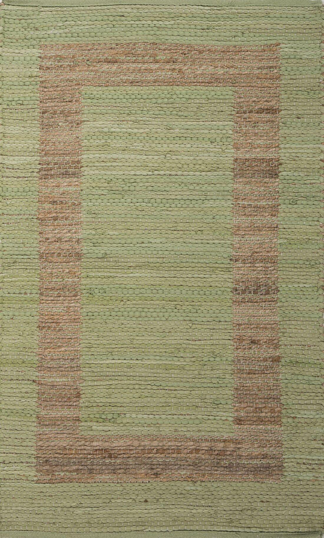 Kasen Green/Taupe Natural Area Rug