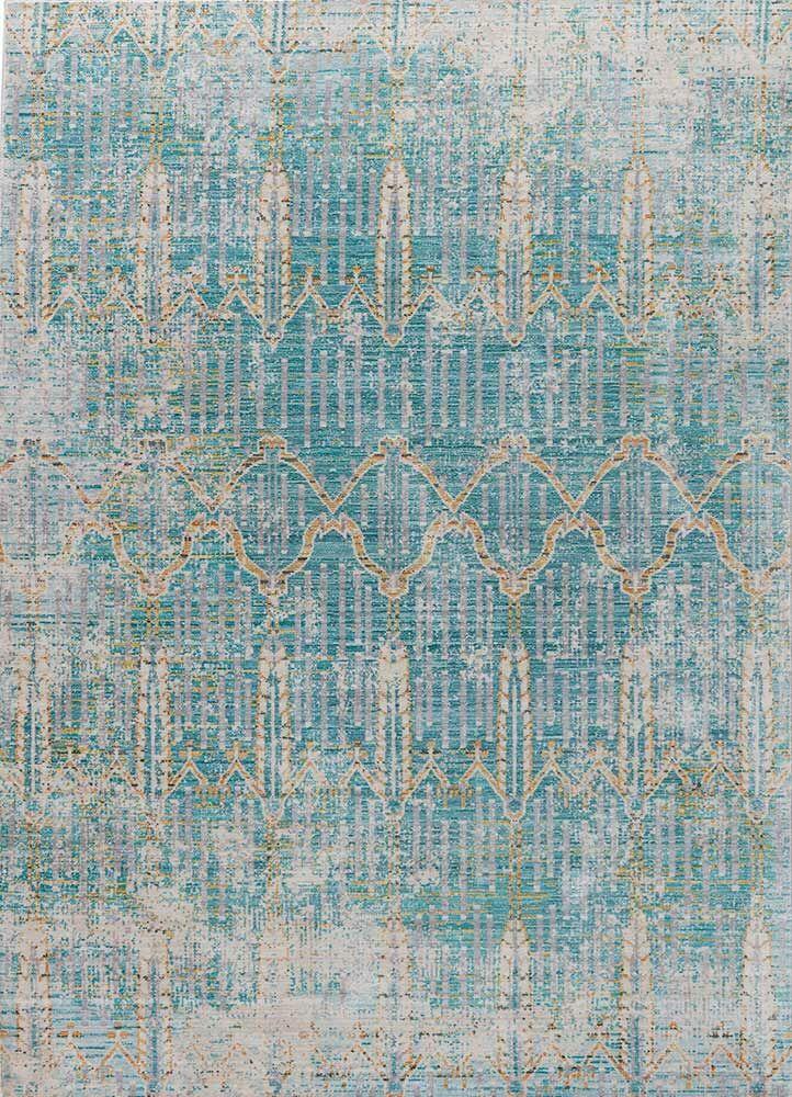 Javon Blue Area Rug Rug Size: Rectangle 5' x 8'
