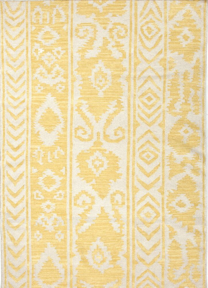 Terrence Yellow Tribal Area Rug Rug Size: Rectangle 5' x 8'