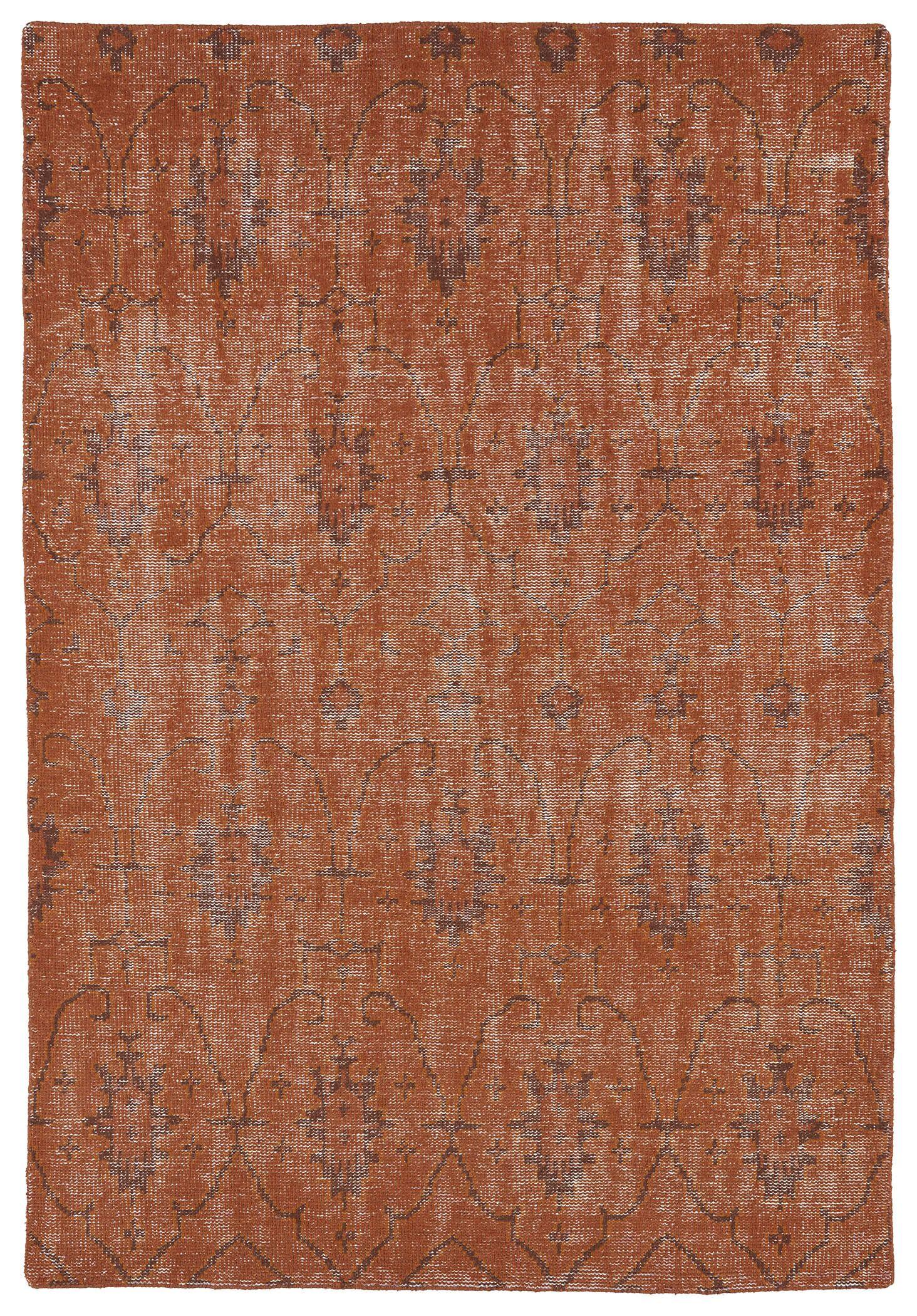 Anjali Pumpkin Area Rug Rug Size: Rectangle 8' x 10'