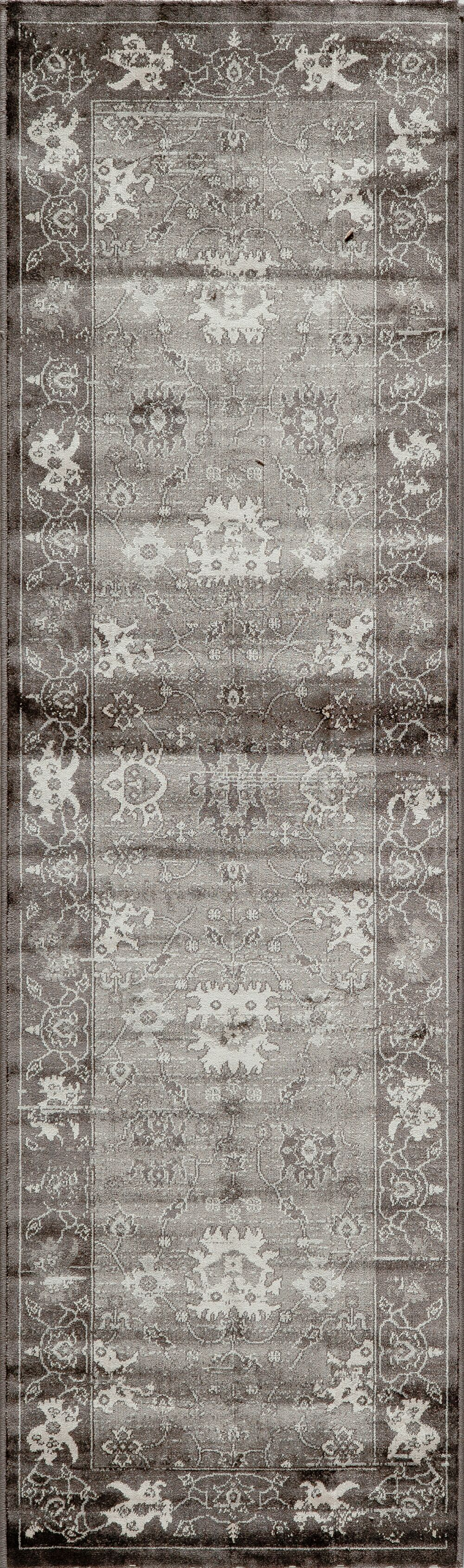 Hindeloopen Charcoal Area Rug Rug Size: Rectangle 6'7
