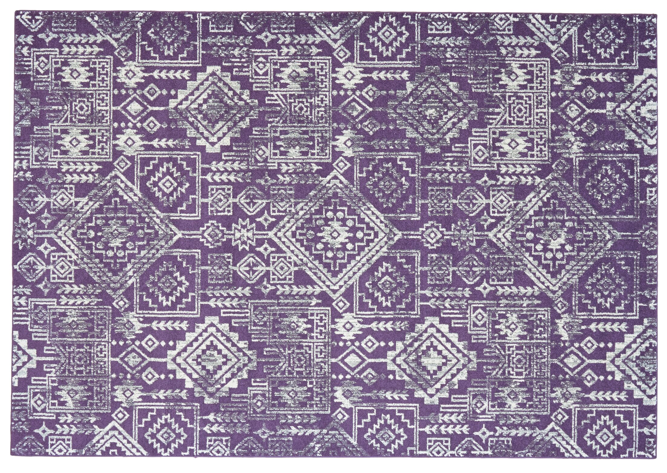 Gharass Violet Area Rug Rug Size: Rectangle 5' x 8'