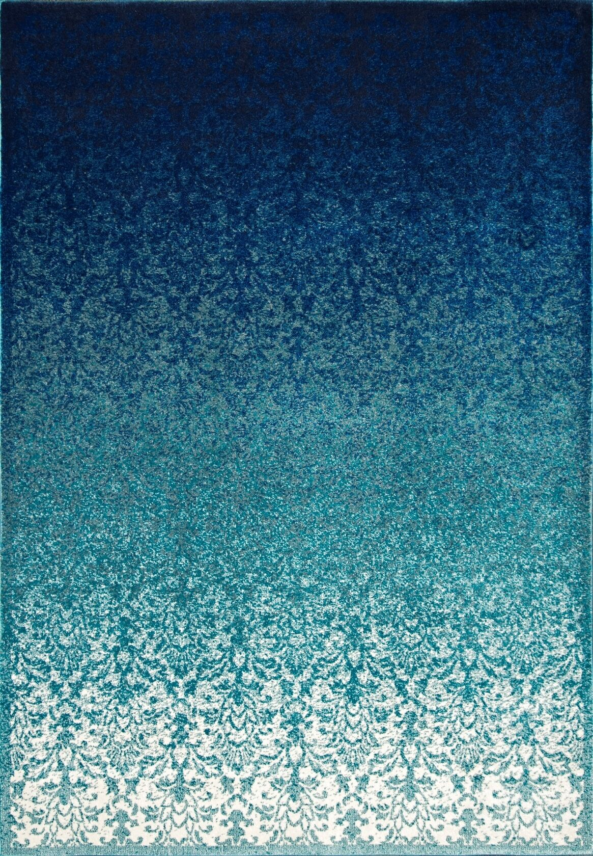 Clavene Turquoise Area Rug Rug Size: Rectangle 5'3