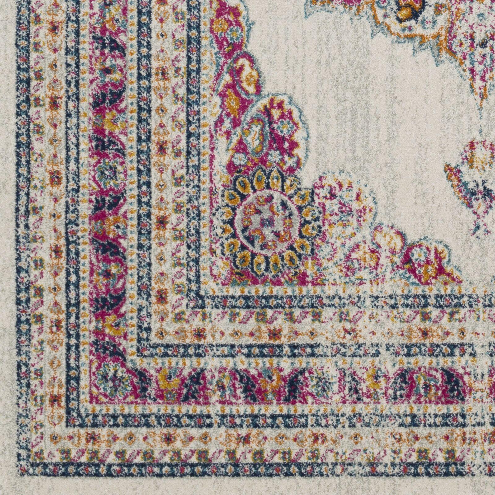Southwick Garnet/Cream Area Rug Rug Size: Rectangle 6'7