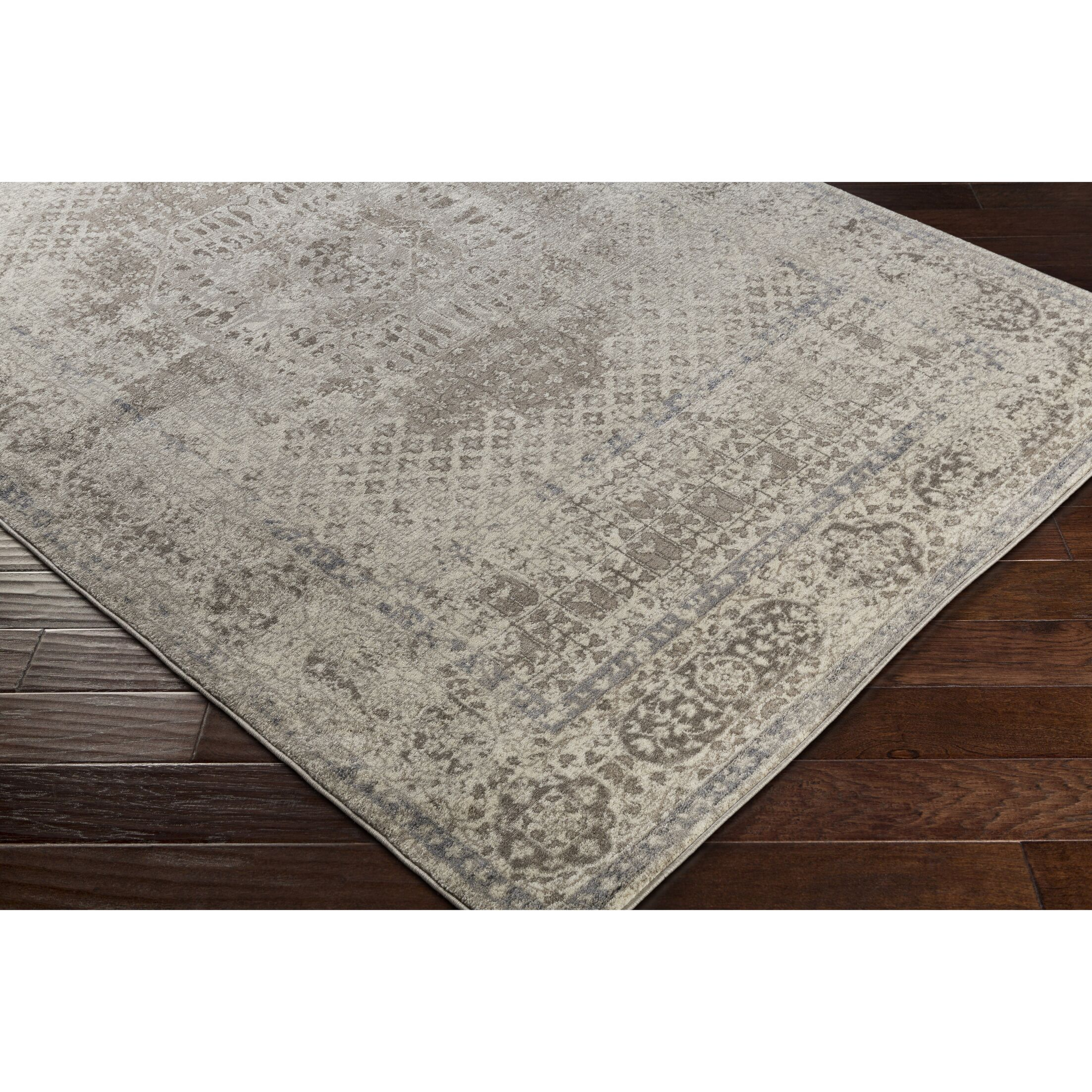 Ismael Taupe/Light Gray Area Rug Rug Size: Runner 2'7