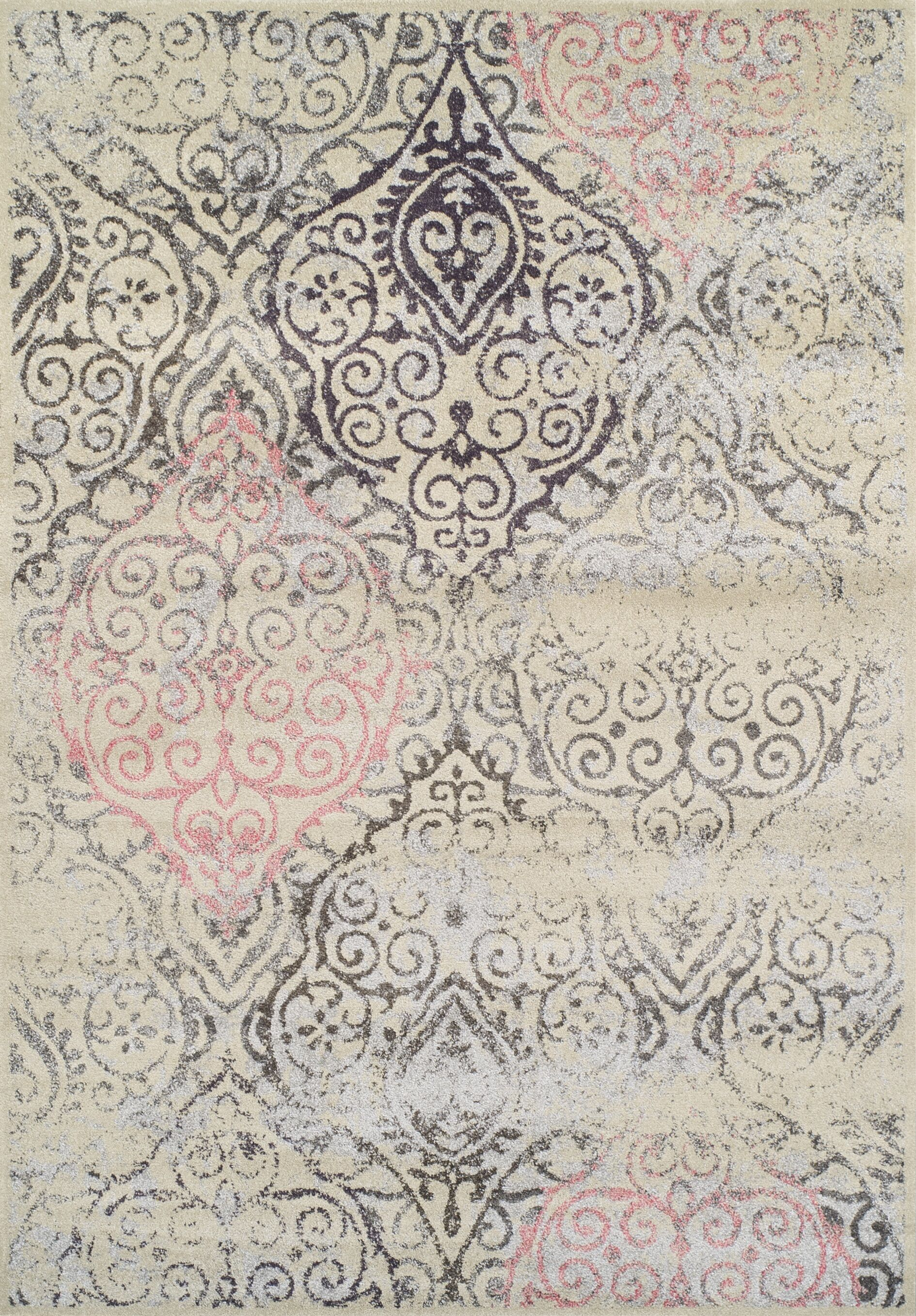 Theodora Linen Area Rug Rug Size: Rectangle 9'6