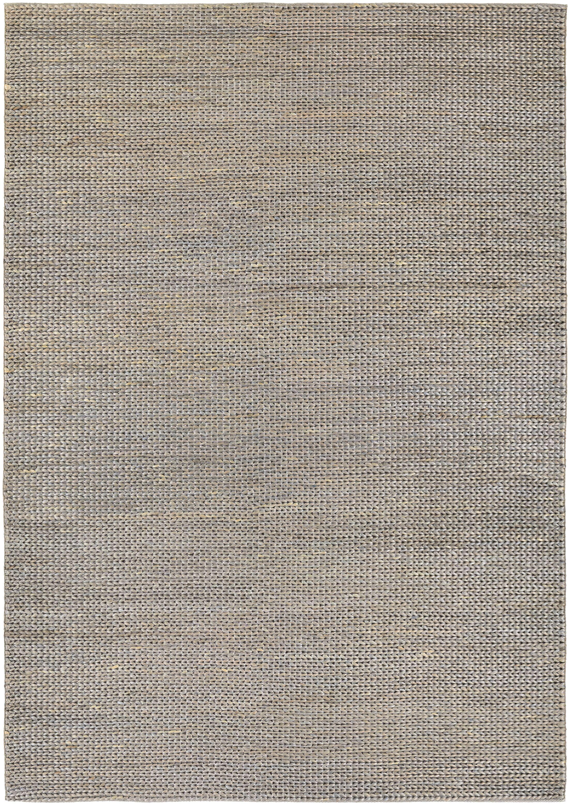 Uhlig Hand-Woven Gray/Tan Area Rug Rug Size: Rectangle 5'3