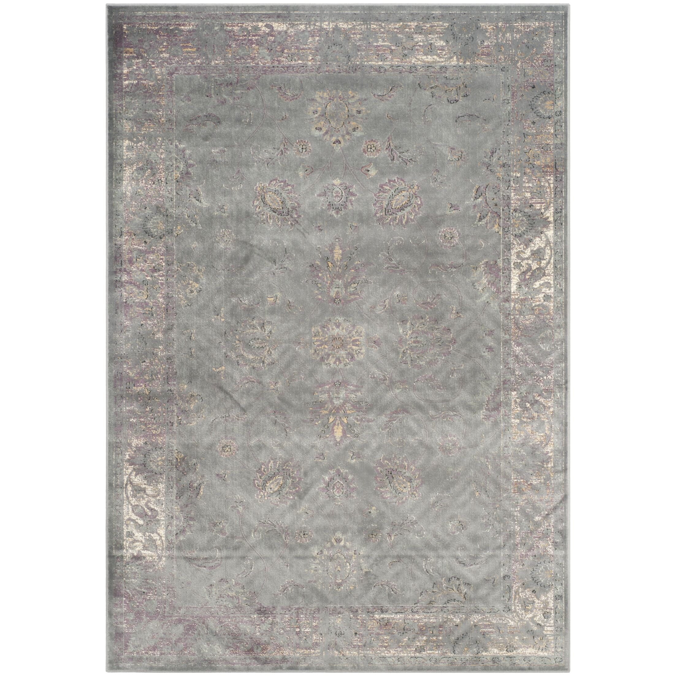 Makenna Grey/Multi Area Rug Rug Size: Rectangle 6'7