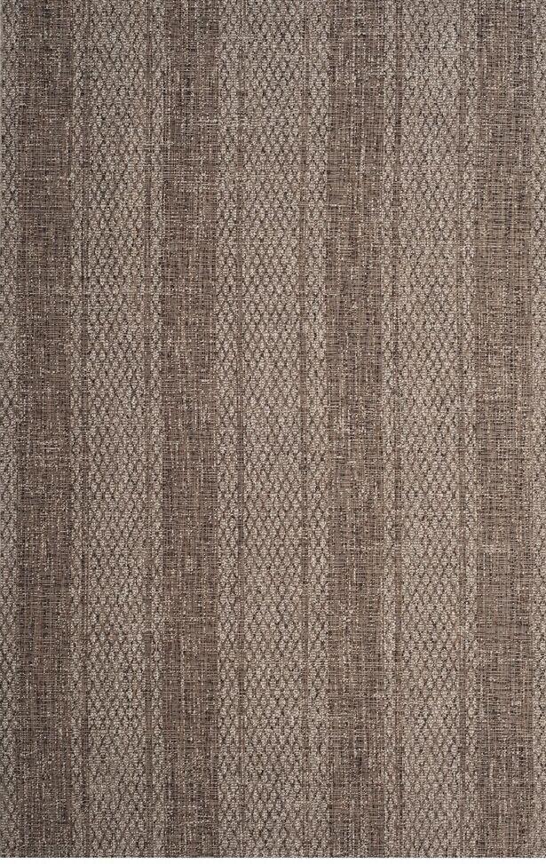 Myers Beige/Light Indoor/Outdoor Brown Area Rug Rug Size: Square 6'7