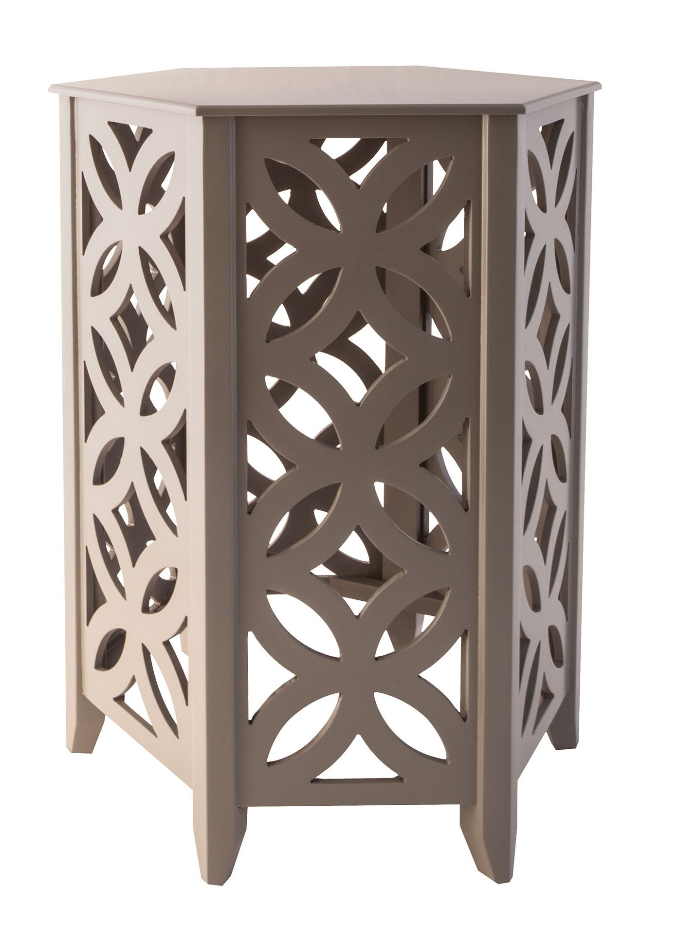 Hyannis End Table Color: Cool Gray