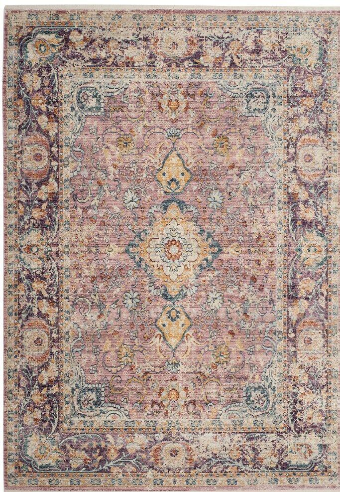 Soren Purple Area Rug Rug Size: Rectangle 9' x 12'