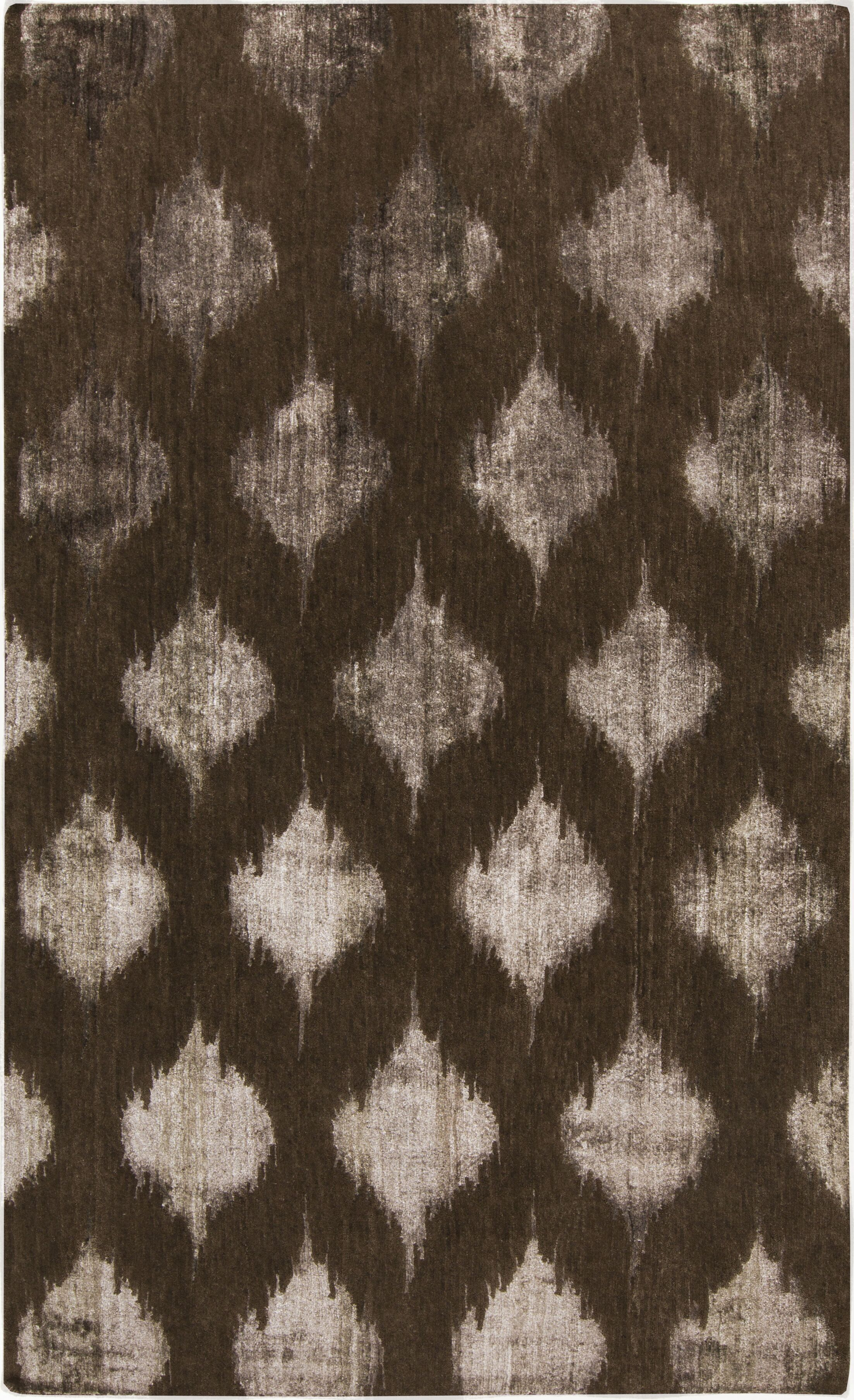 Norwell Chocolate Area Rug Rug Size: Runner 2'6