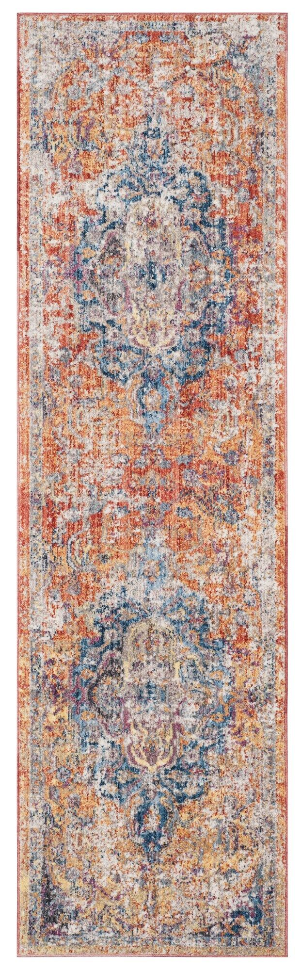 Arapaho Orange Area Rug Rug Size: Runner 2'3
