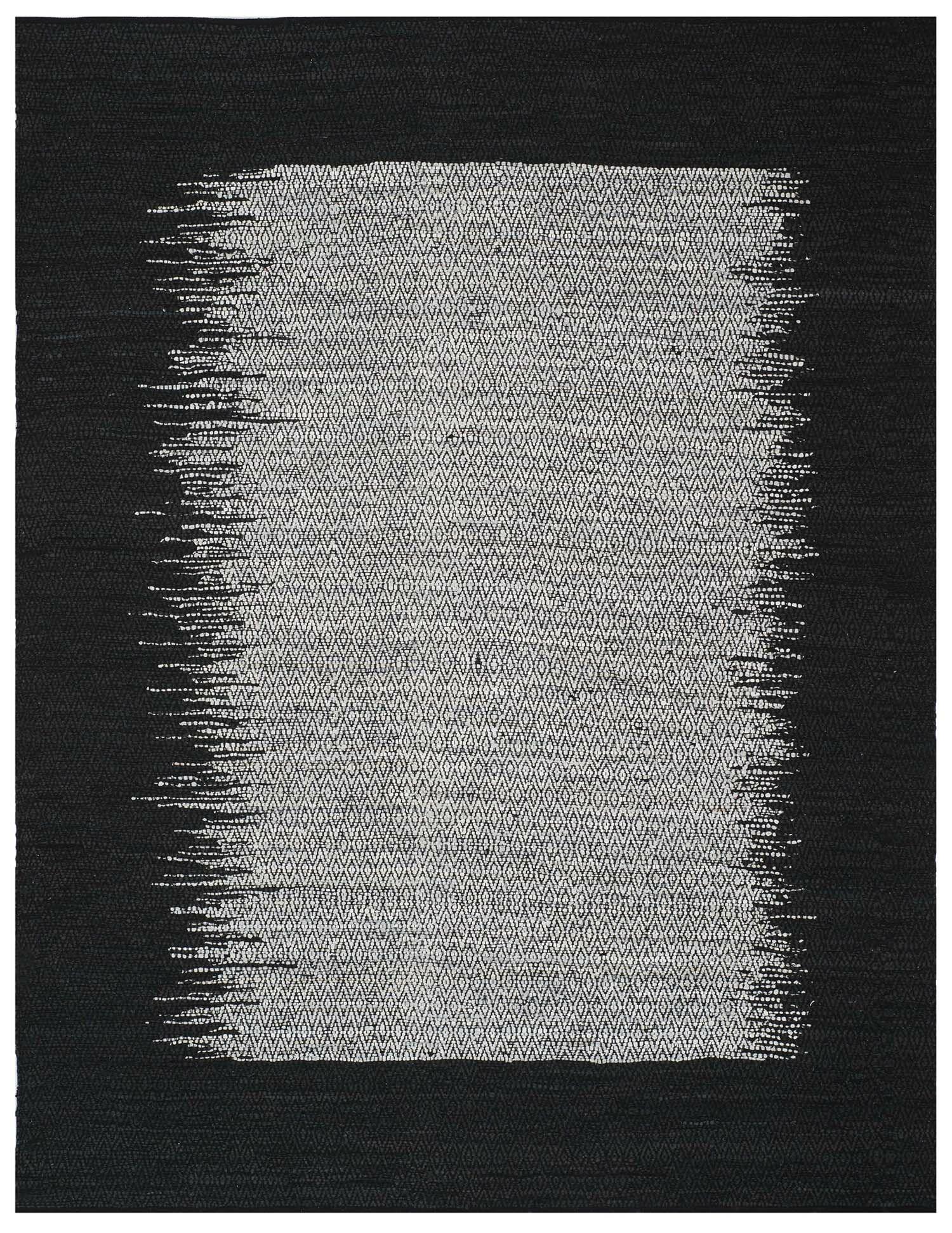 Logan Hand-Woven Light Gray Area Rug Rug Size: Rectangle 2' x 3'