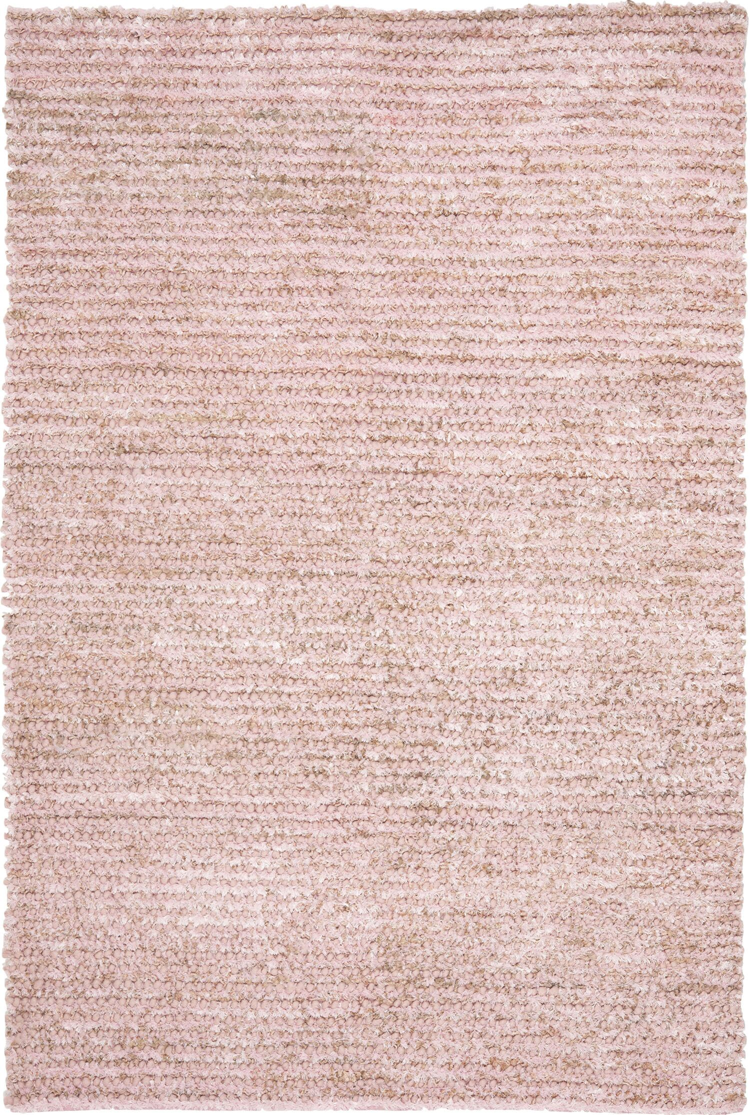 Messiah Pink Area Rug Rug Size: Rectangle 6' x 9'