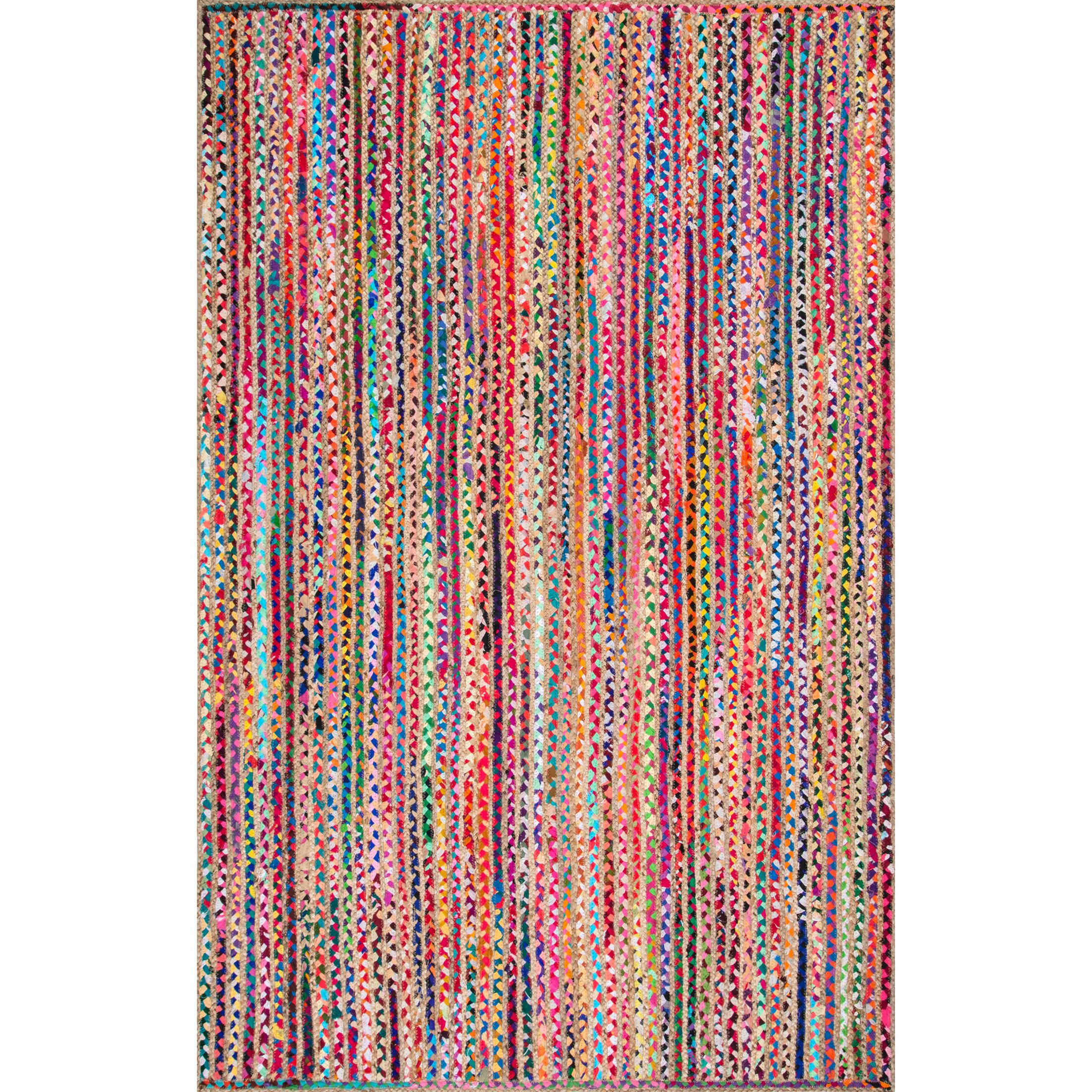Sumitra Pink/Blue Area Rug Rug Size: Rectangle 6' x 9'