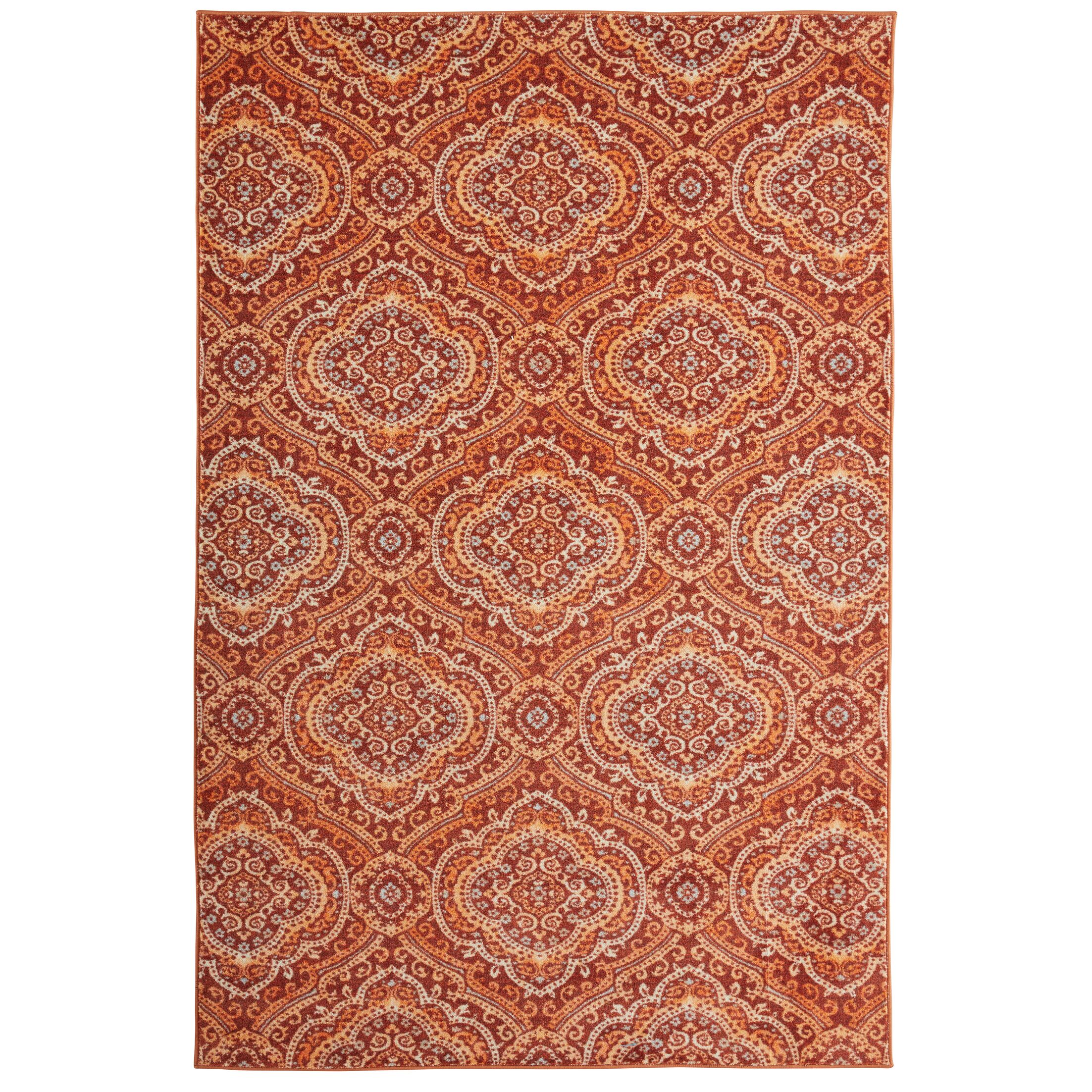 Amblewood Burnt Orange Area Rug Rug Size: Rectangle 5' x 8'