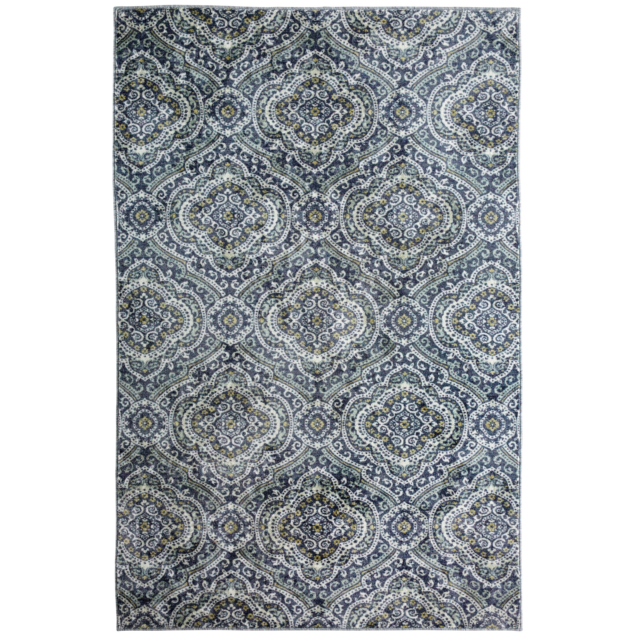 Amblewood Gray Area Rug Rug Size: Rectangle 5' x 8'