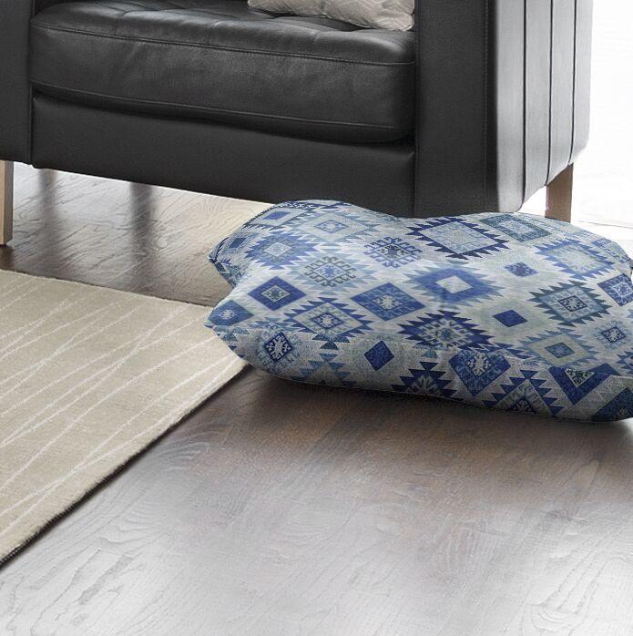 Scotland Square Floor Pillow Size: 8