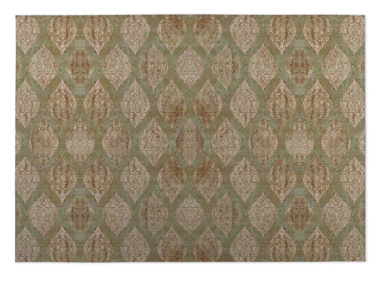 Elna Brown/Green Indoor/Outdoor Doormat Mat Size: Rectangle 8' x 10'
