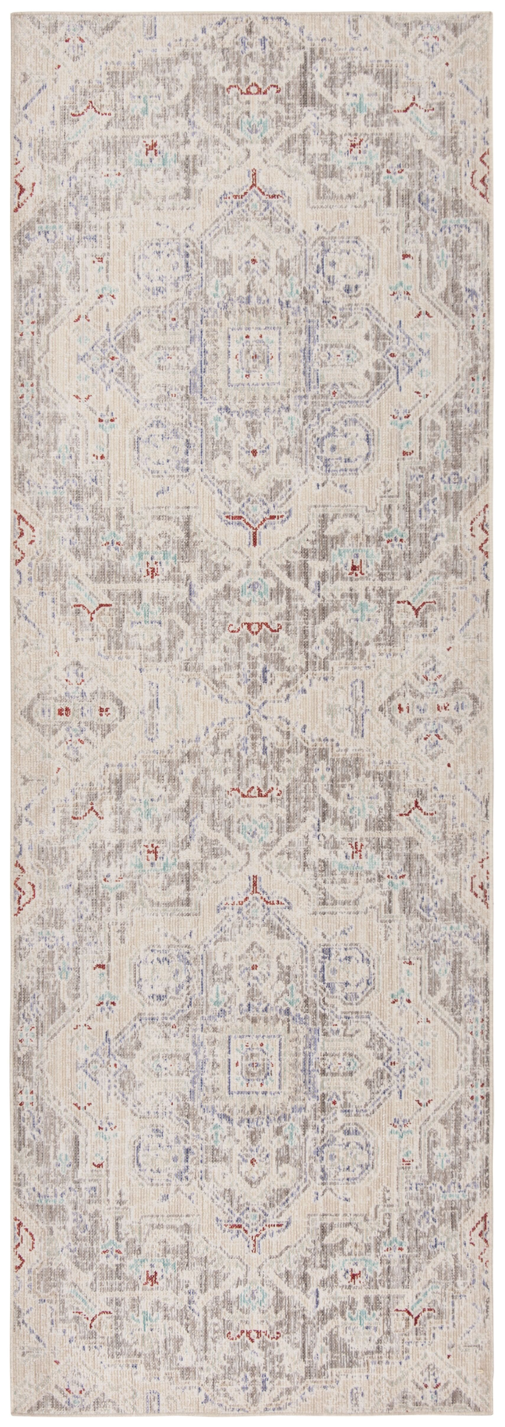 Chauncey Light Gray Area Rug Rug Size: Rectangle 3' x 8'