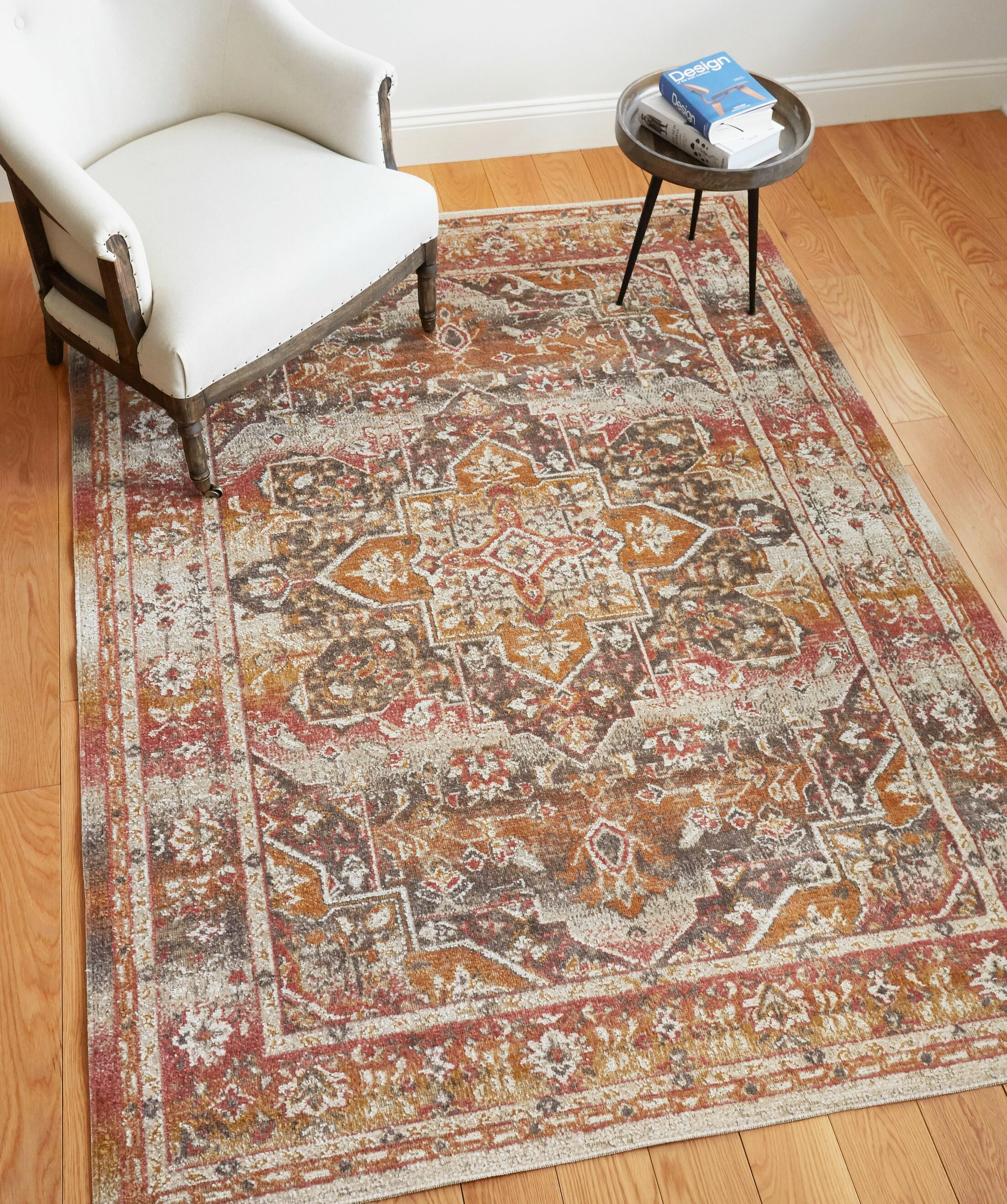 Cortright Beige Area Rug Rug Size: Rectangle 5'3