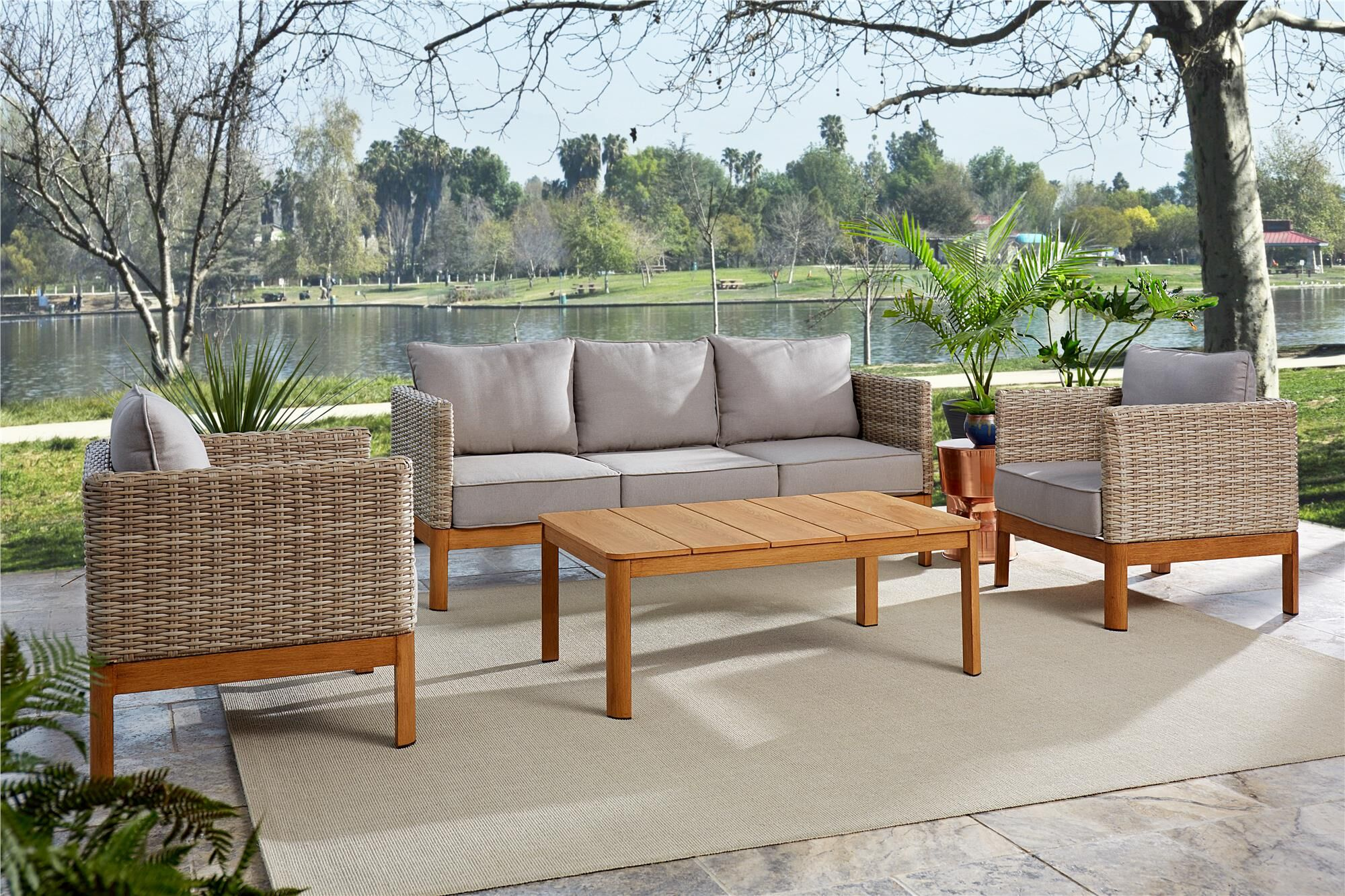 Nanette 4 Piece Sofa Seating Group