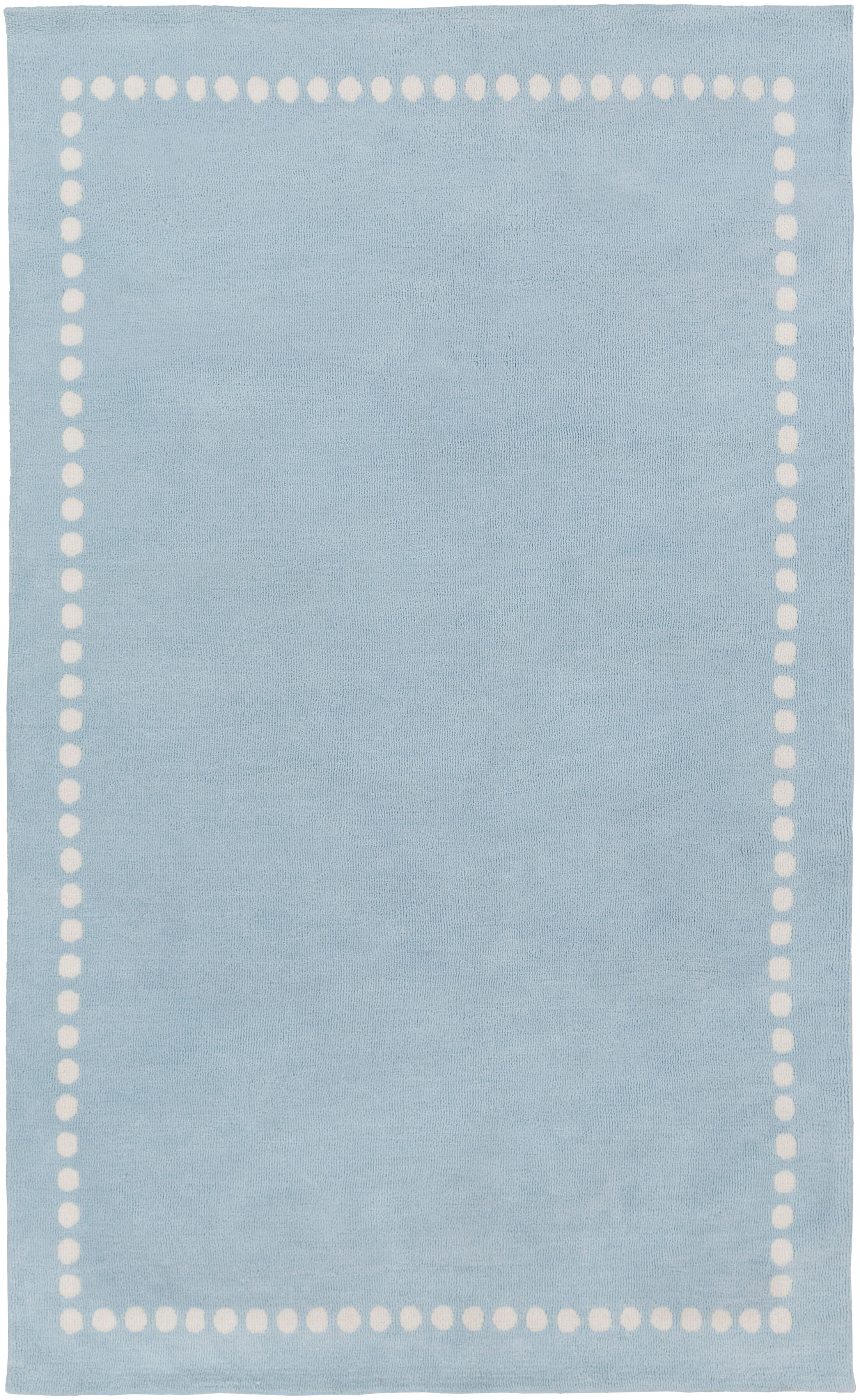 Abigail Blue Area Rug Rug Size: Rectangle 8' x 11'