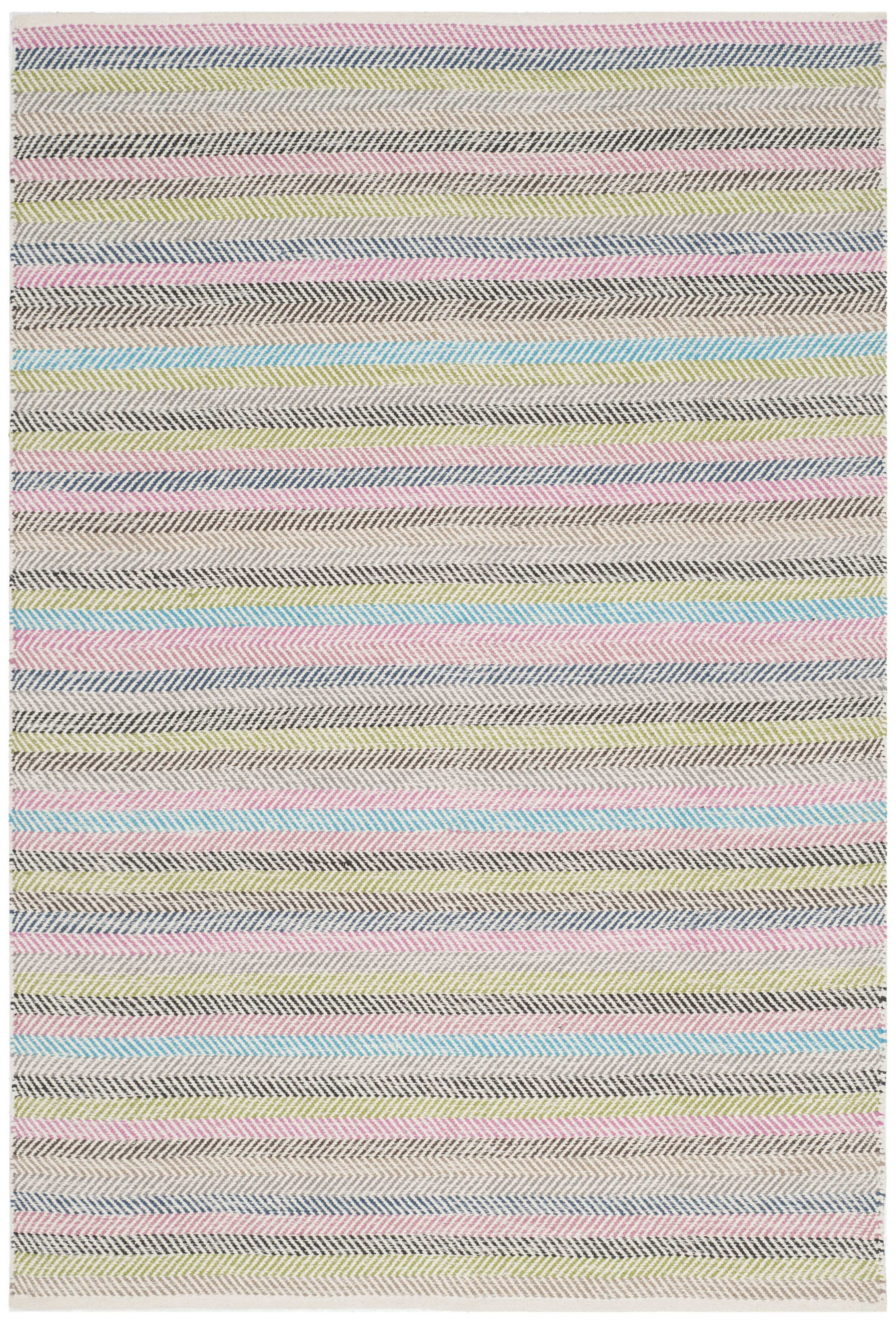 Sardis Hand-Woven Light Gray Area Rug Rug Size: Rectangle 4' x 6'