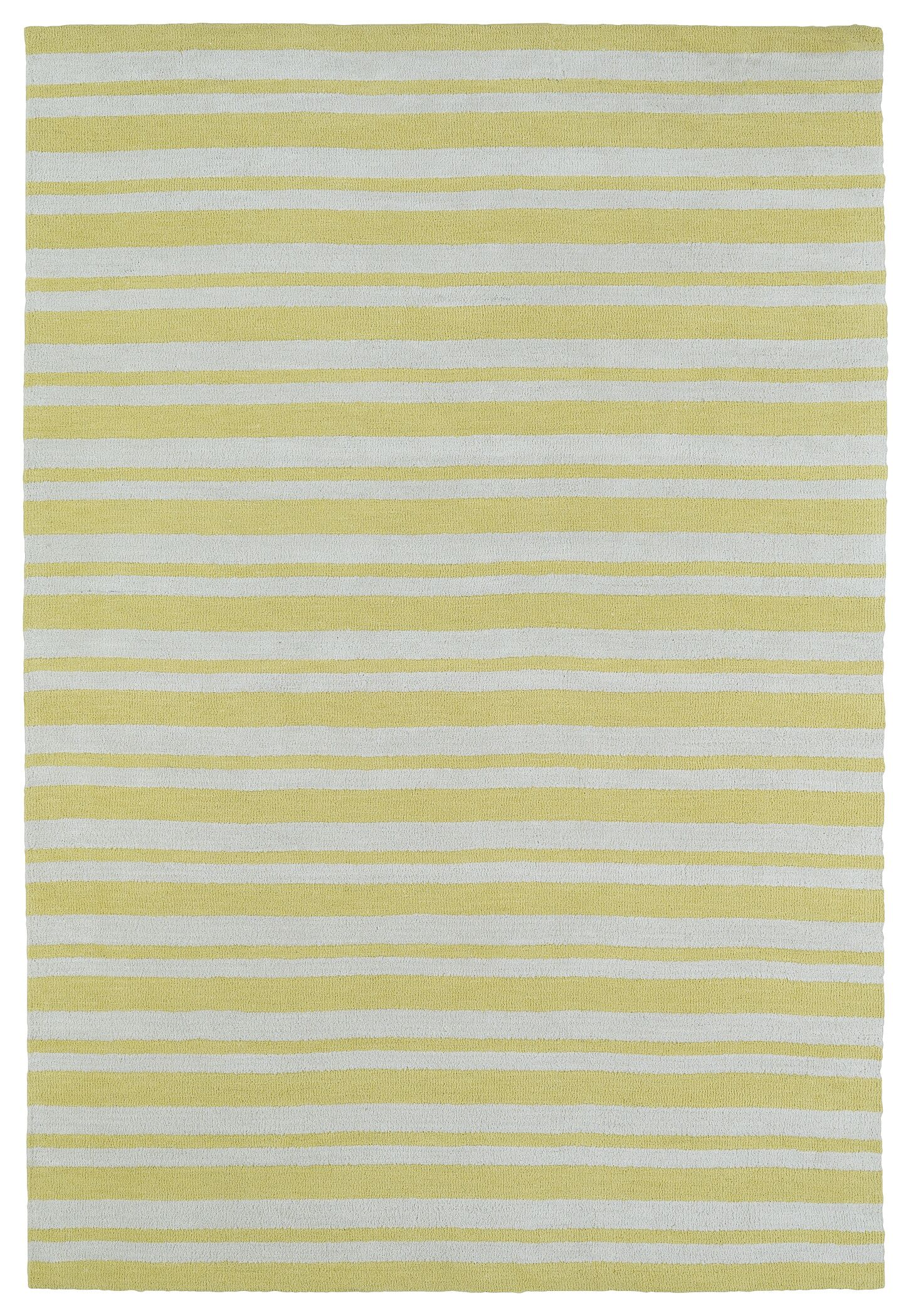 Marlon Yellow Area Rug Rug Size: Rectangle 8' x 10'