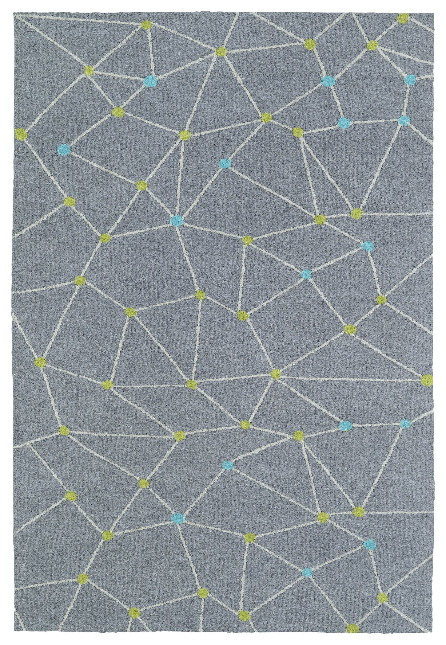 Marilyn Gray Area Rug Rug Size: Rectangle 4' x 6'