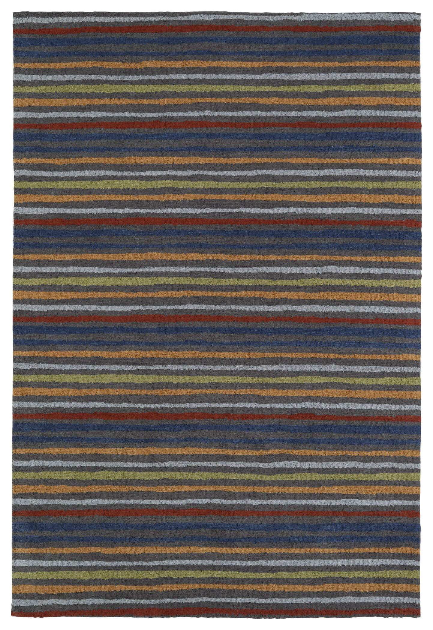 Mary-Kate Gray Area Rug Rug Size: Rectangle 8' x 10'
