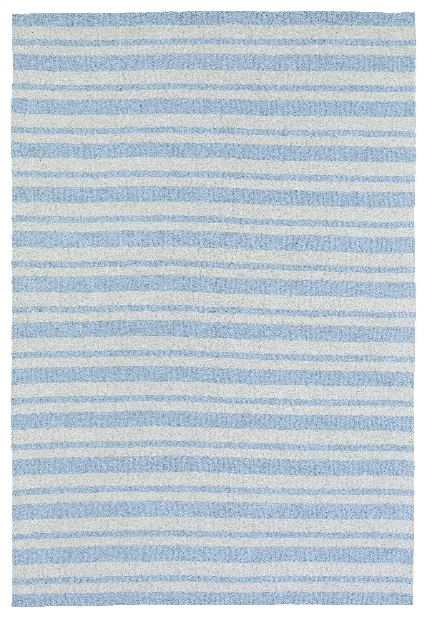 Marlon Blue Area Rug Rug Size: Rectangle 4' x 6'